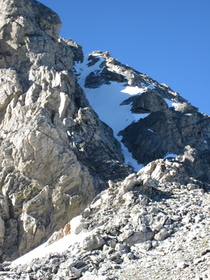 NW Couloir overview